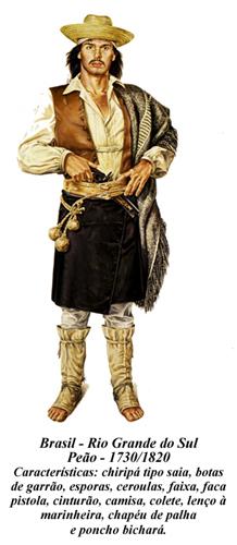 BRASIL RS PEÃO 1730 1820